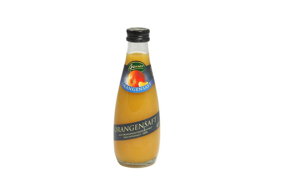 0,20 l Orangensaft