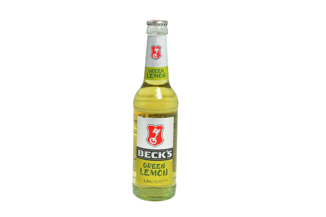 0,33 l Becks Lemon