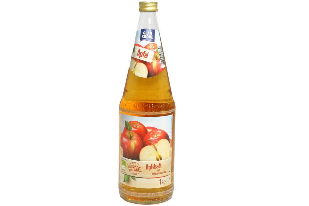 1,00 l Apfelsaft