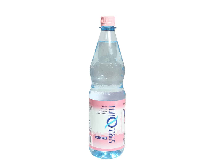 1,00 l Mineralwasser still