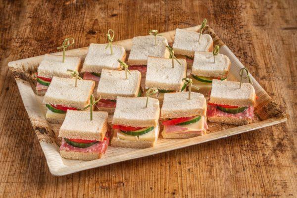 12er Mini American Sandwich Platte
