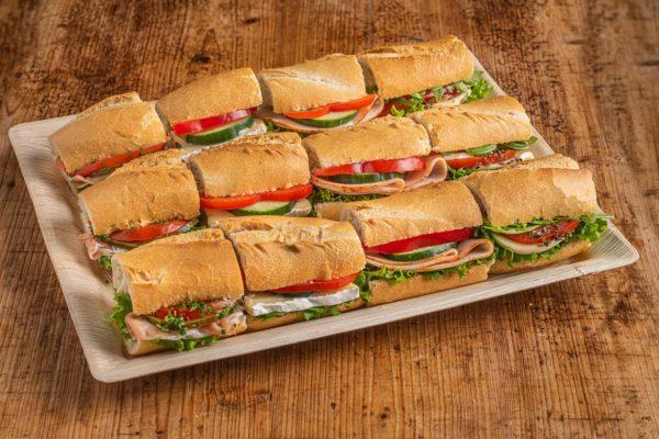 12er Mini Baguette Sandwich Platte