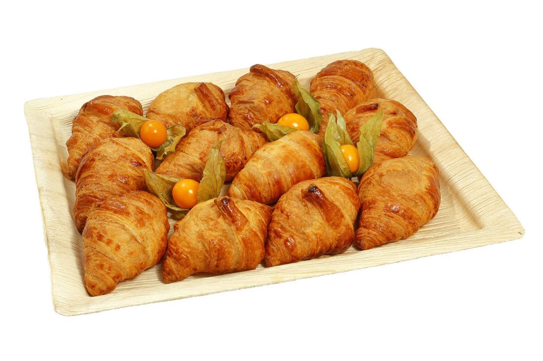 12er Mini Butter-Croissant Platte
