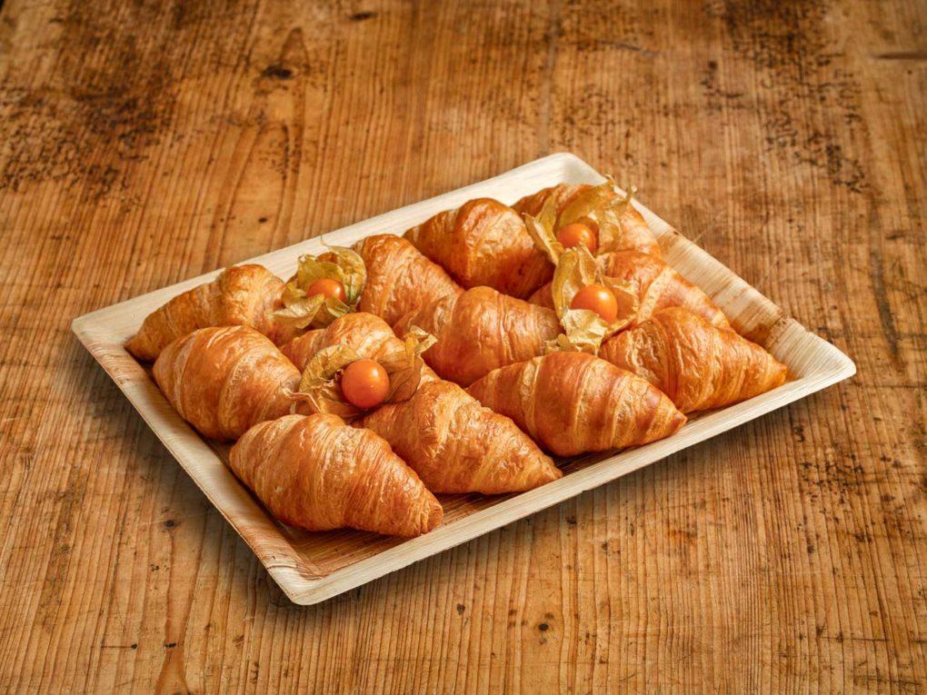 12er Mini Butter Croissant Platte