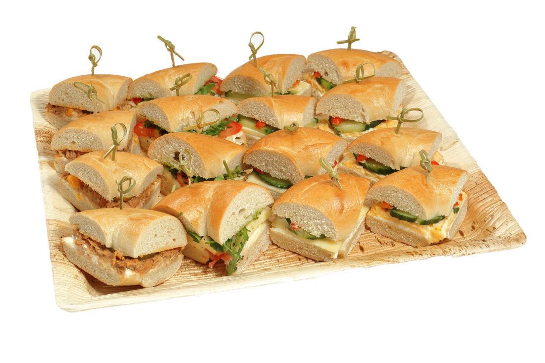16er Mini Bagel Platte