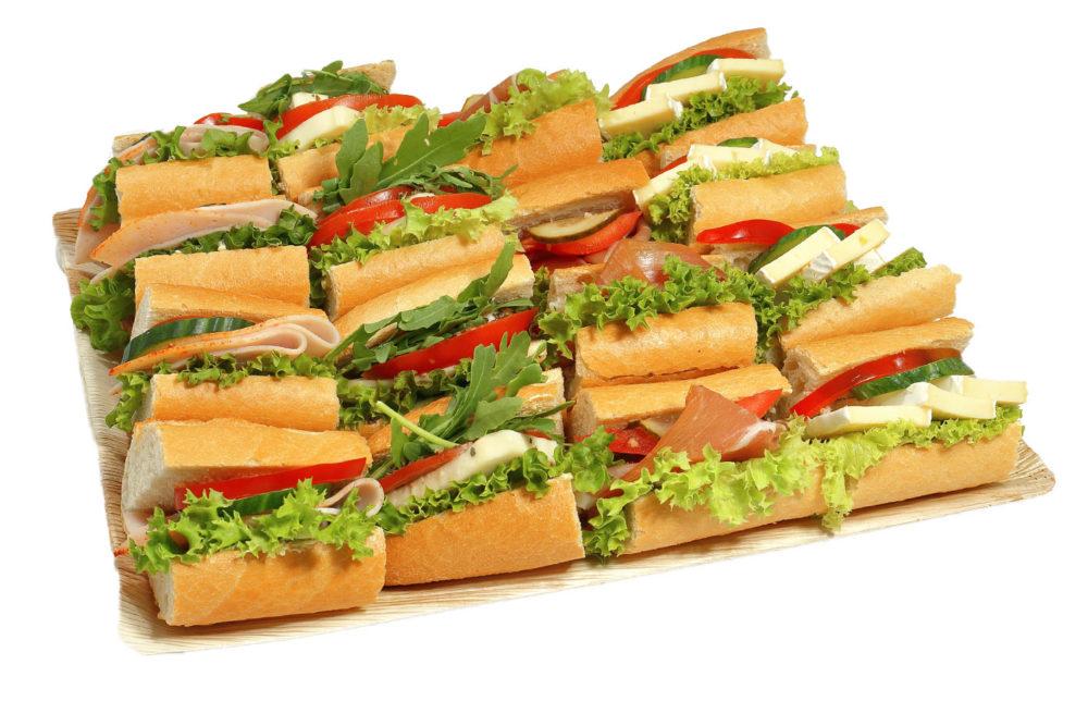 16er Mini Baguette Sandwich Platte