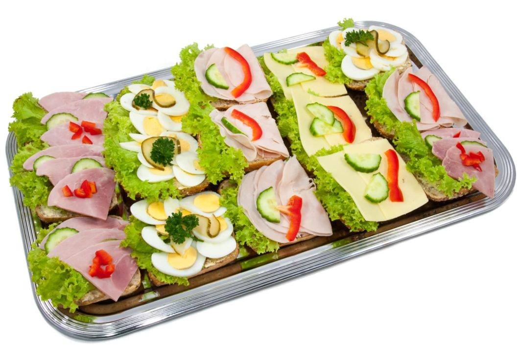 Halbe Belegte Brotchen Barlifood Business Catering