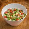 2,5l Avocado Salat mit Haehnchenbrust