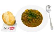 3350Z-Indische Kartoffel-Erbsensuppe