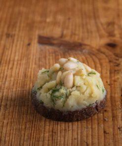 Canape Kartoffel-Kräutercreme