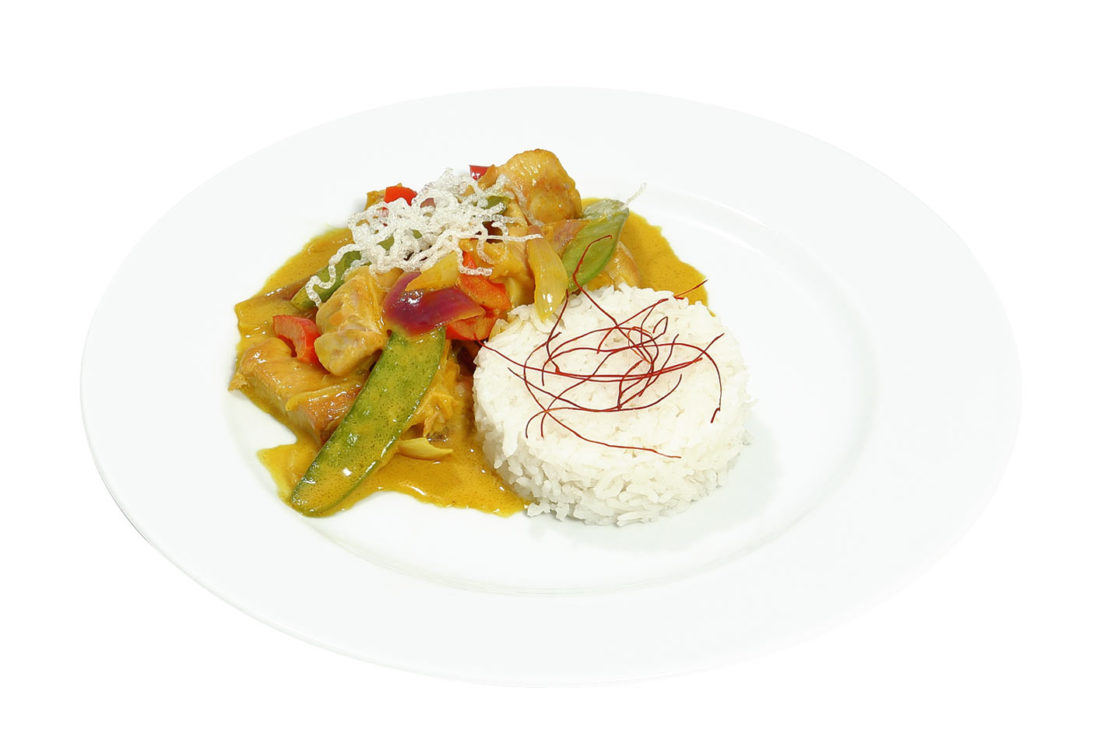 Chicken Curry mit Basmati