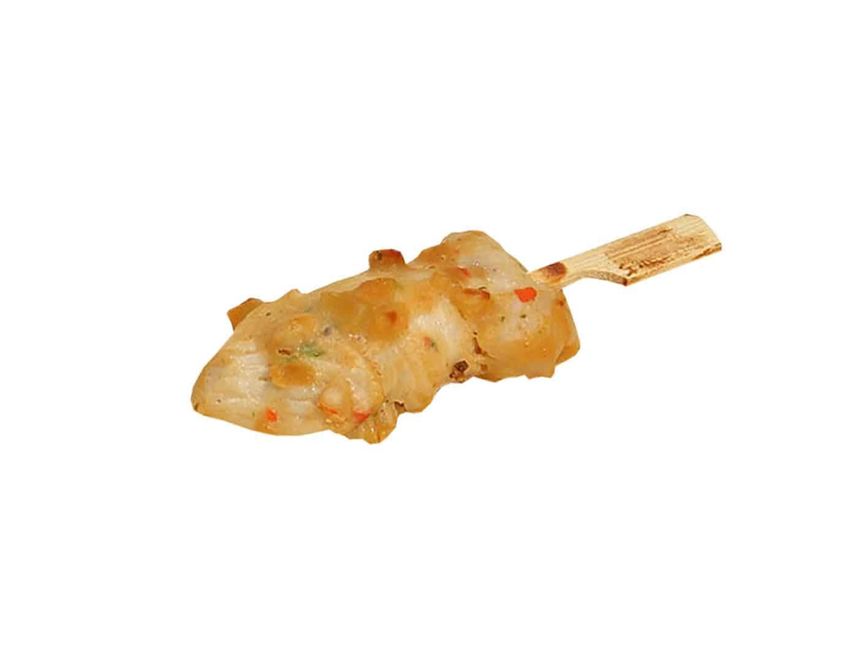 Hähnchenbrust-Spießchen mit Erdnussmarinade