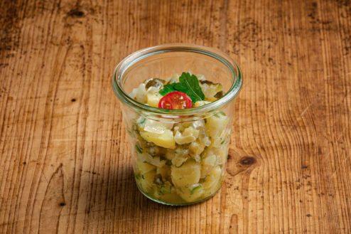 Kartoffelsalat im Weckglas VEGAN