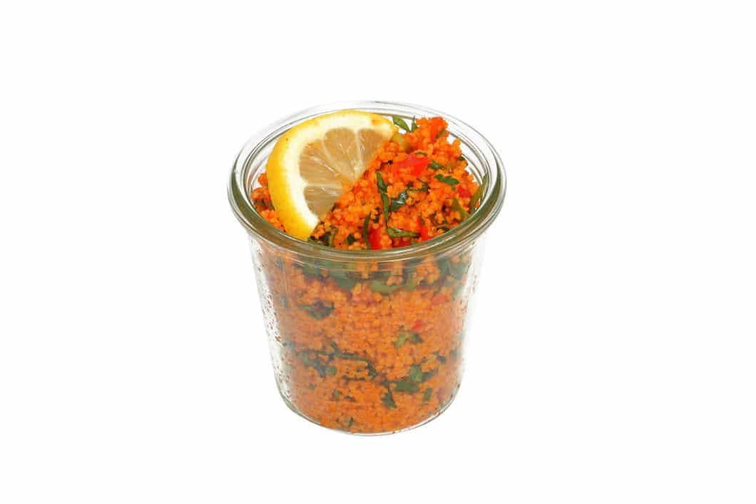 Kisir Salat im Weckglas