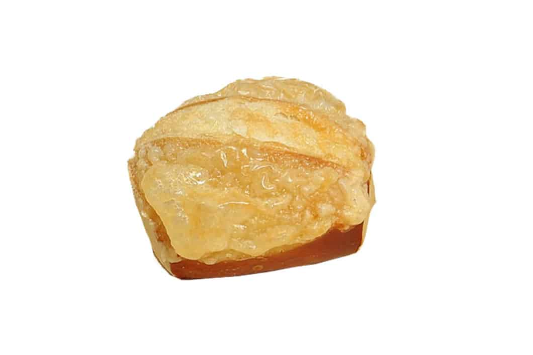 Mini Laugini mit Käse überbacken