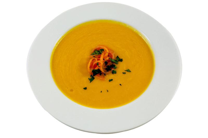 Orangen-Möhrensuppe