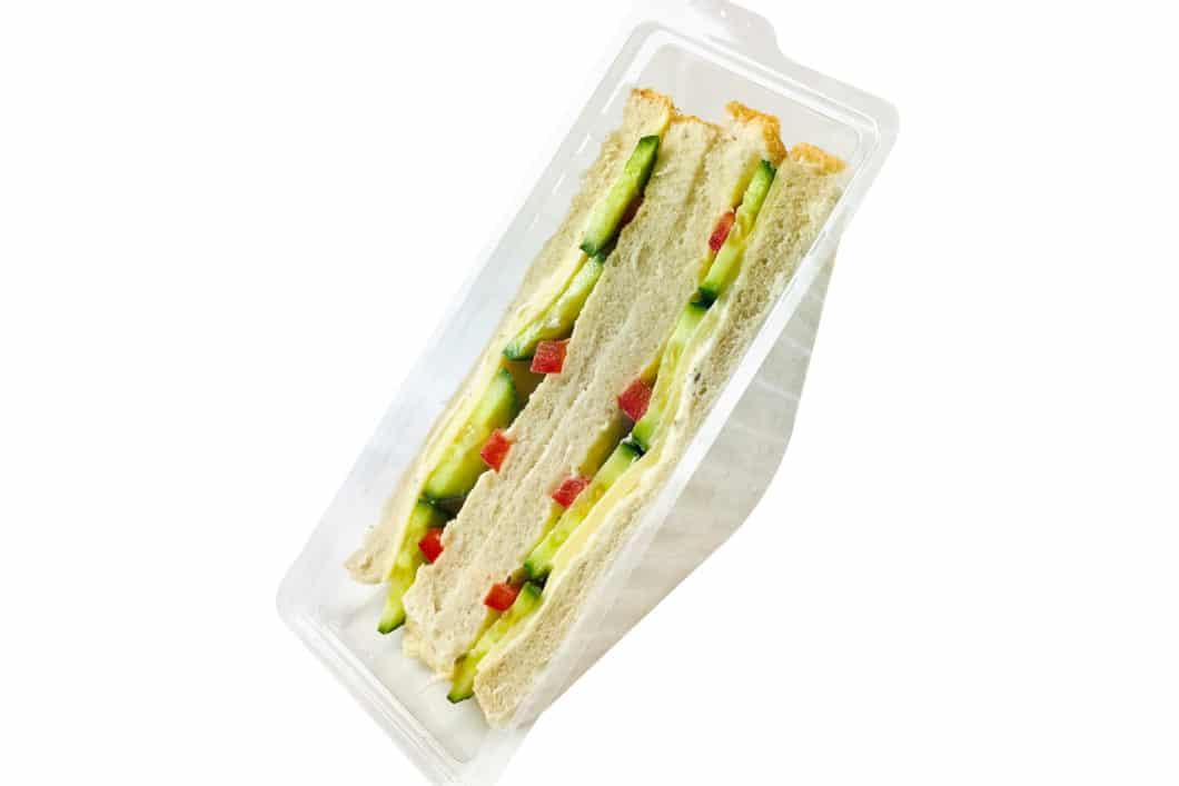 American Sandwich mit Käse