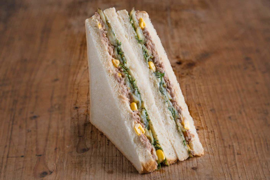 American Sandwich mit Thunfisch