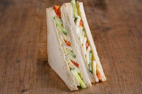 American Sandwich mit Camembert