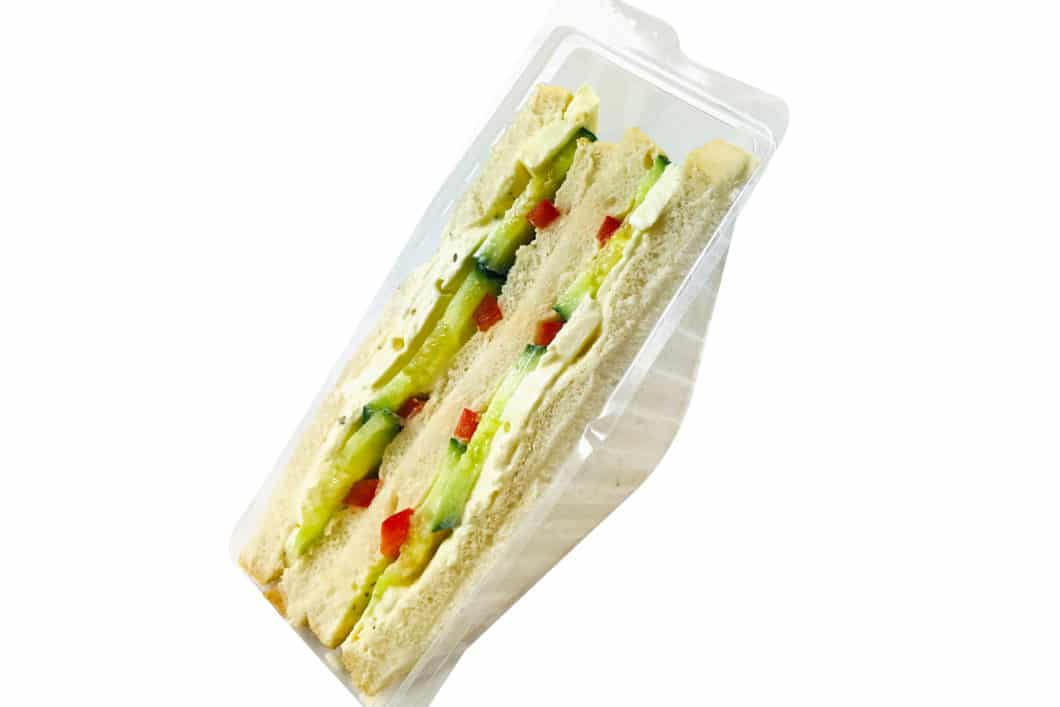 American Sandwich mit Schafskäse