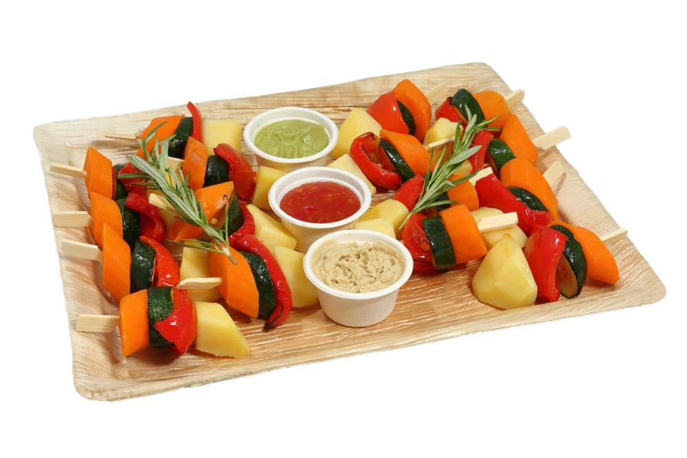 18er Gemüse Spießchen Platte