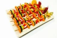 24er Gemüse Spießchen Platte