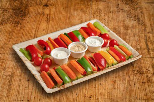 60er Gemüsesticks Platte