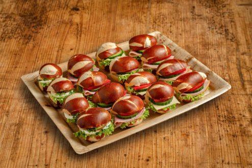 16er Mini Laugen Sandwich Platte