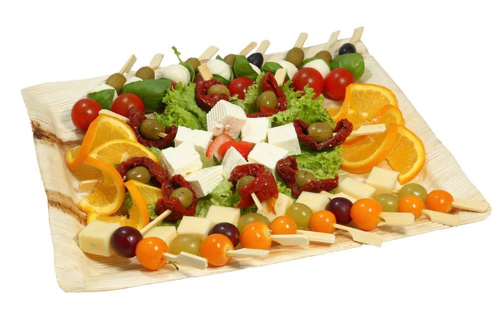24er Käse Spießchen Platte
