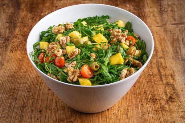 2,5 l Ananas-Rucola Salat