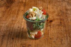 Babyspinat Salat im Weckglas