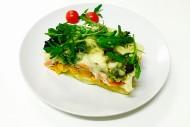 Gemüseauflauf mit Emmentaler überbacken