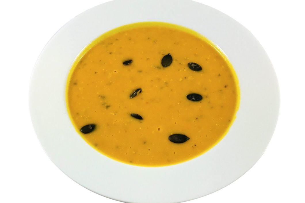 Kürbis-Ingwer Suppe