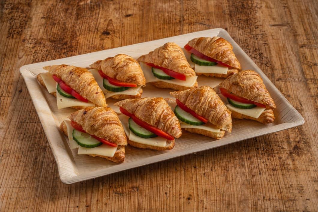 8er Mini Käse-Croissant Platte
