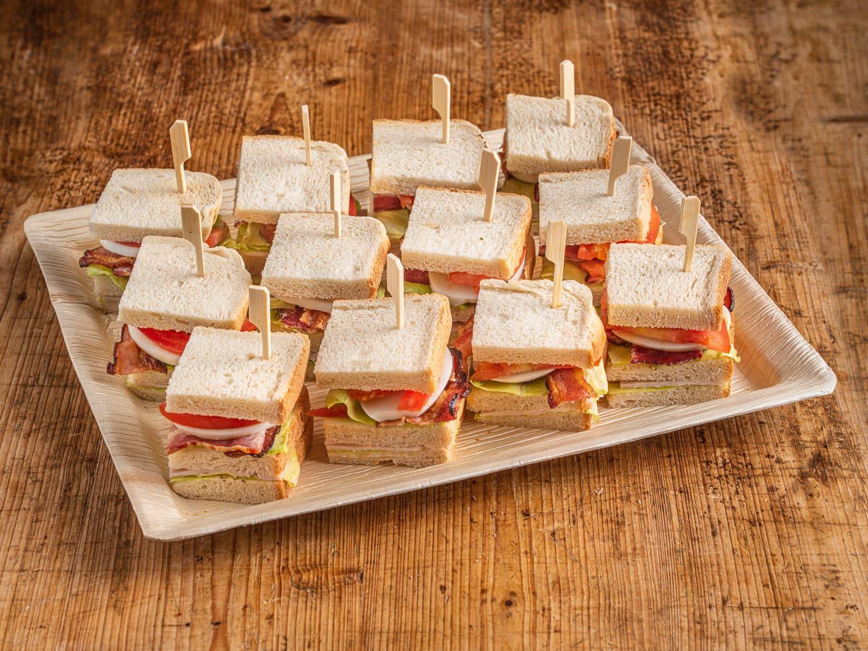12er Mini Club Sandwich Platte