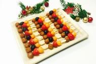 24er Marzipan-Frucht Spießchen Platte