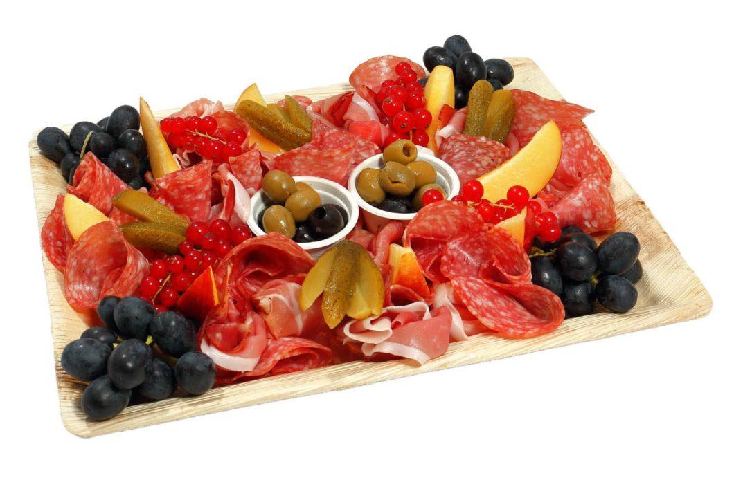Schinken-und Salami Platte