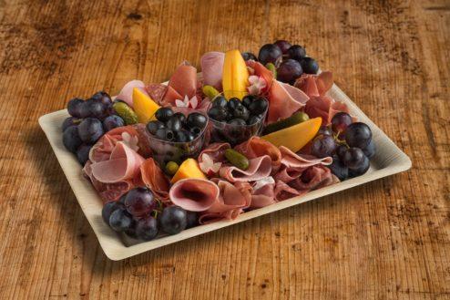 Schinken- und Salami Platte