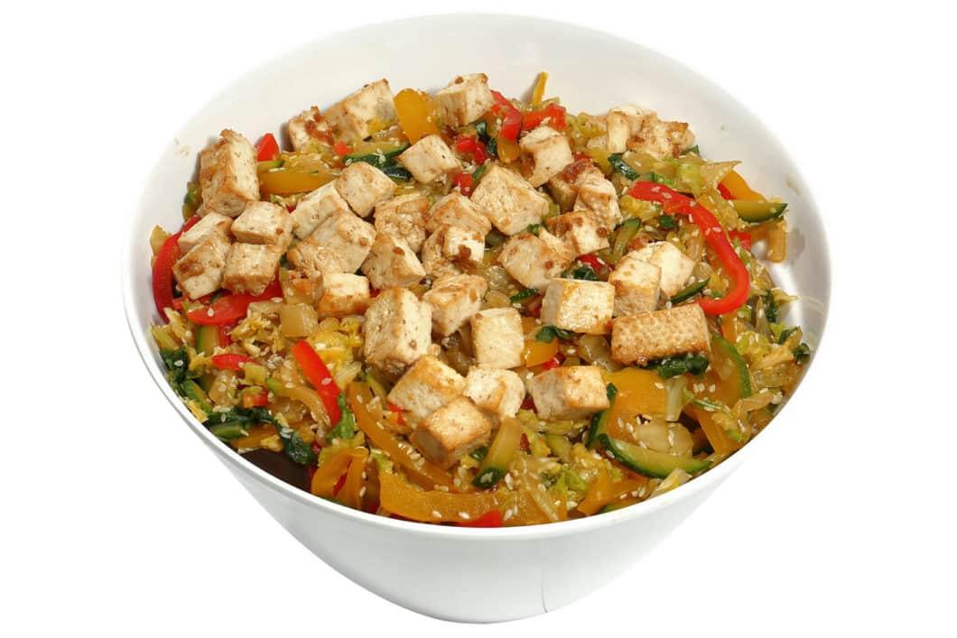 2,5 l Tofu Teriyaki Salat