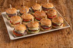 12er Mini Burger Platte