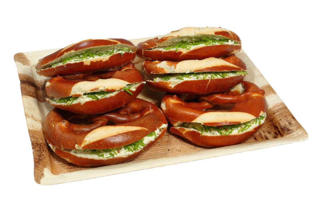 6er Frischkäse-Schnittlauch Brezel Platte