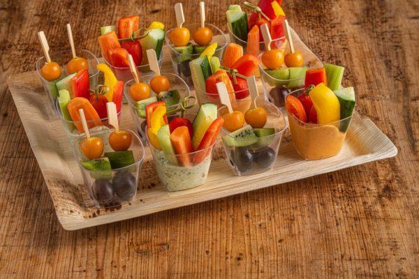 12er Obst und Gemüse Schälchen