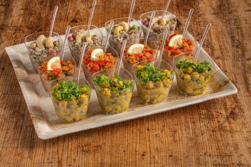 12er Vegan Salat Schälchen