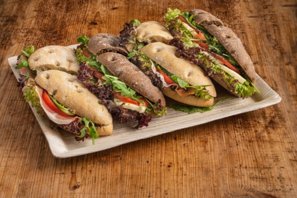 8er Flaguette Sandwich Platte
