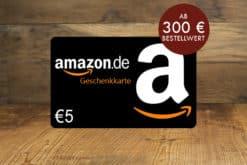 5 € Amazon Gutschein