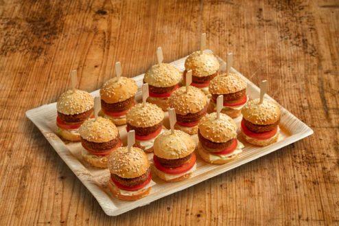 12er Mini Burger Platte FALAFEL