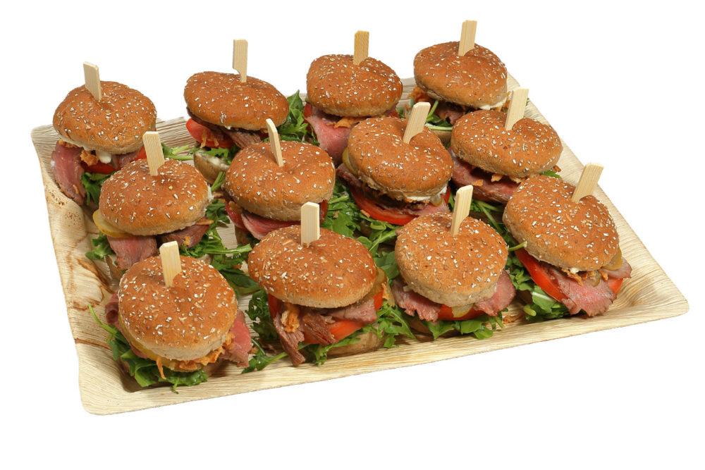 12er Mini Vollkorn-Roastbeef Burger