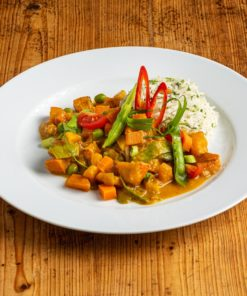 Veggie Curry mit Basmati