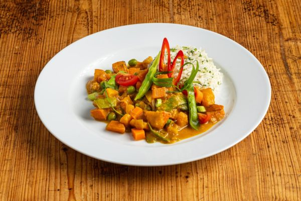 Veggie Curry mit Basmati
