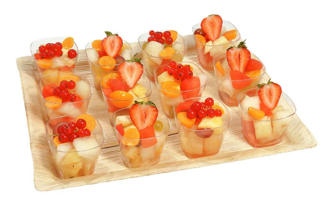 12er Obstsalat Schälchen